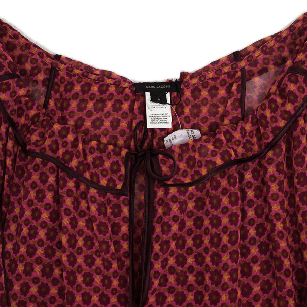 Marc Jacobs Overlay Capelet Top M