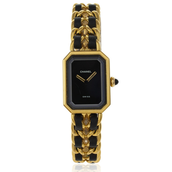 Chanel 18 K Yellow Gold & SS Vintage Womens Watch 26 MM