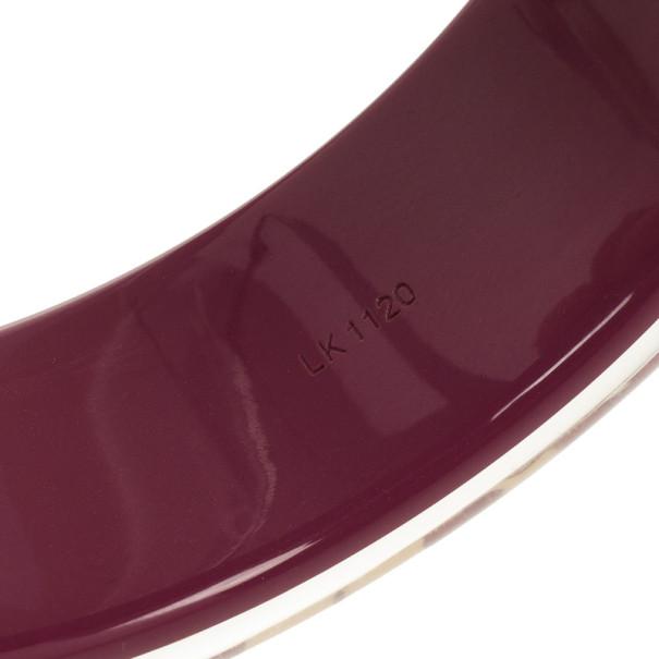 Louis Vuitton Inclusion Purple Bracelet 22 CM