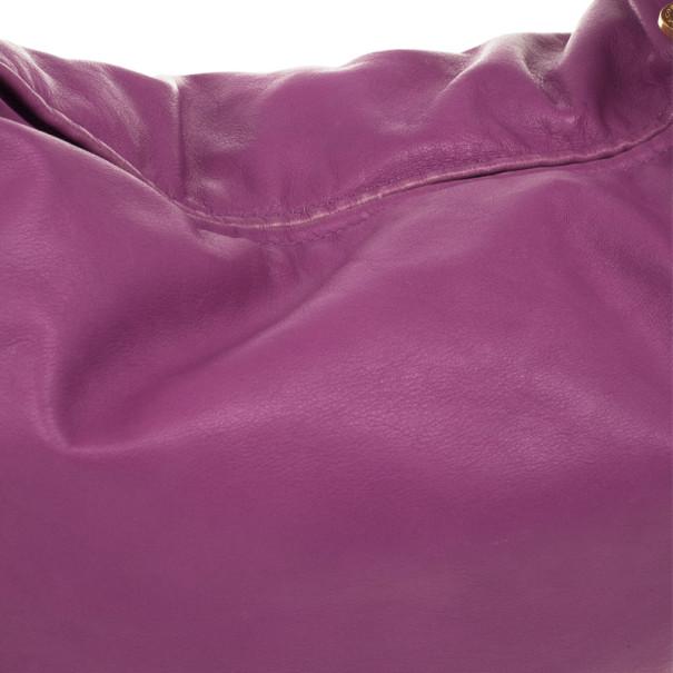 Marc by Marc Jacobs Pretty Nappa Sparkling Grape Lil Lissy Shoulder Bag