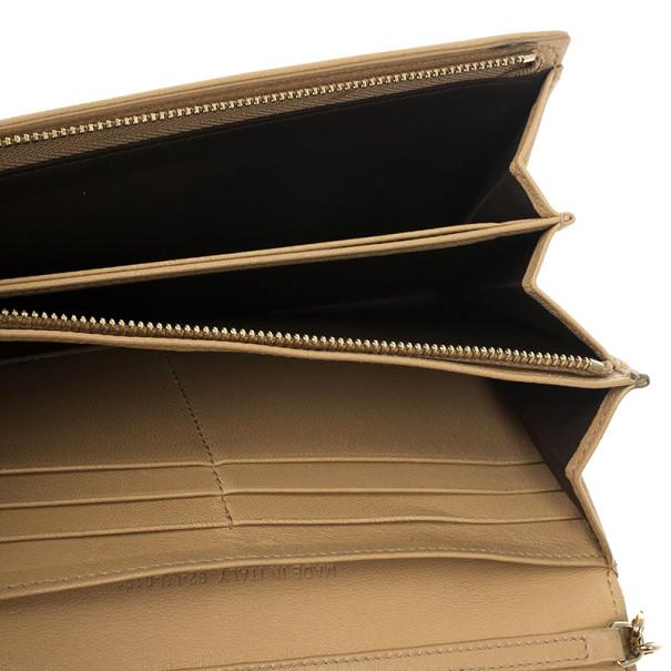 Dior Beige Rendez Vous Granville Continental Wallet