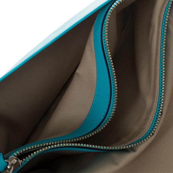 Coach Legacy Archival Two Tone Leather Penny Over Sized Clutch