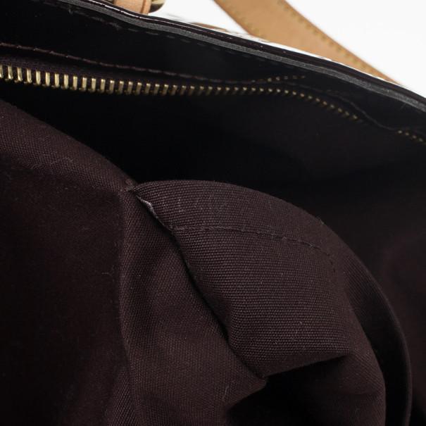 Louis Vuitton Amarante Monogram Vernis Brentwood Tote Bag
