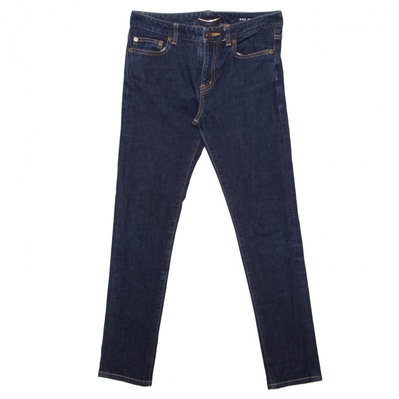 Купить со скидкой Saint Laurent Paris Indigo Dark Wash Denim Skinny Jeans S