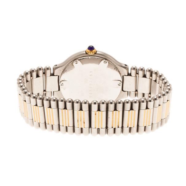 Cartier Silver Stainless Steel 21 Must de Cartier Women's Wristwatch 30MM