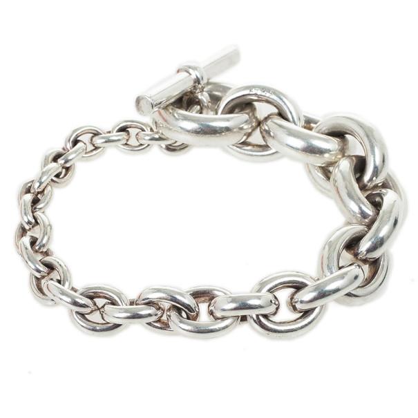 Hermes Crescendo Silver Bracelet