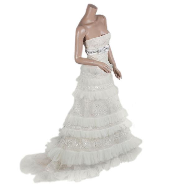 Elie Saab Couture Wedding Dress XS