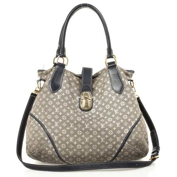 Louis Vuitton Encre Monogram Idylle Elegie Shoulder Handbag