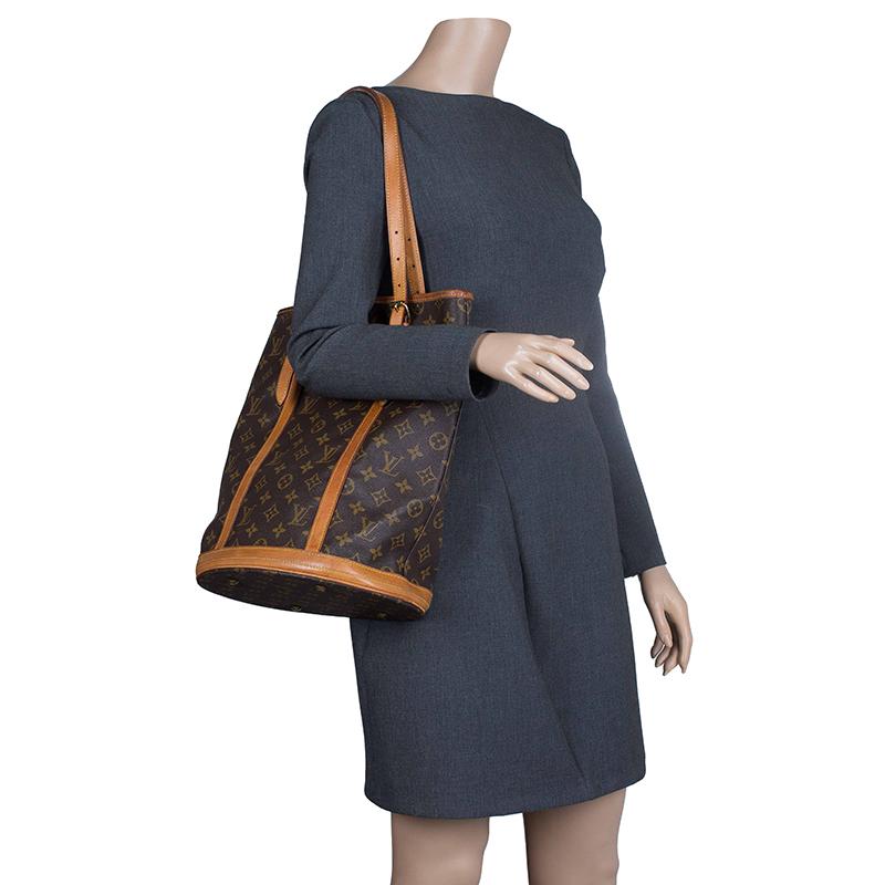 Louis Vuitton Monogram Canvas Bucket Gm Bag Buy Amp Sell Lc