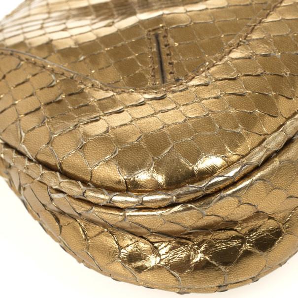 Tod's Bronze Venghe Catena Pouchette Bag