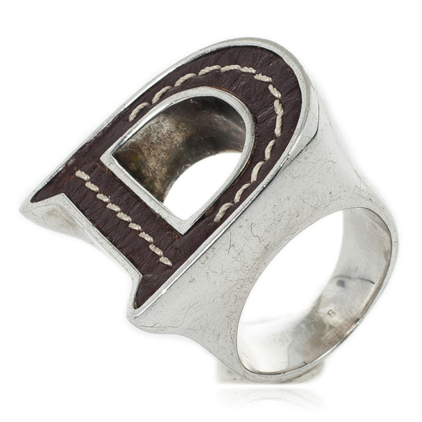 Dior Leather Ring Size 57