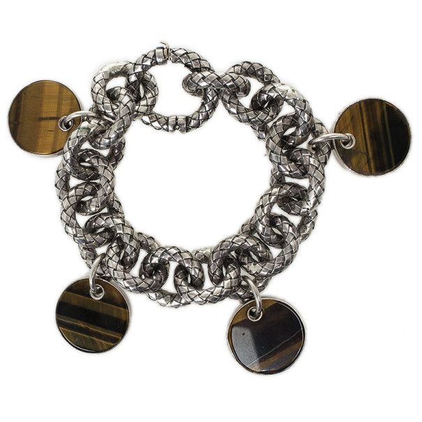 Bottega Veneta Tiger Eye Bracelet