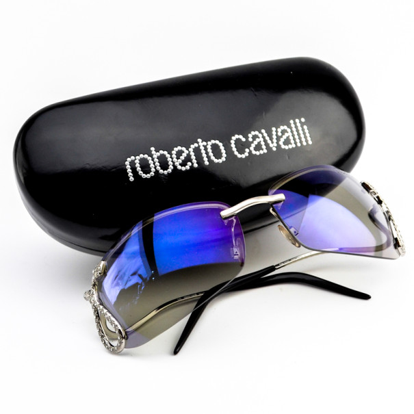 Roberto Cavalli Rimless Fea121s Serpent Woman Sunglasses