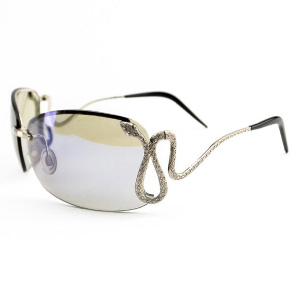 Roberto Cavalli Rimless Fea121s Serpent Woman Sunglasses