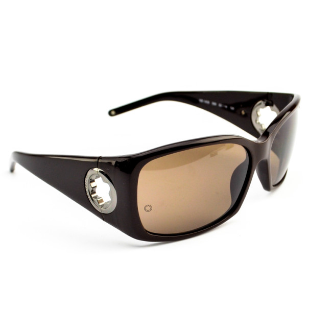 Montblanc Brown MB140s Woman Sunglasses