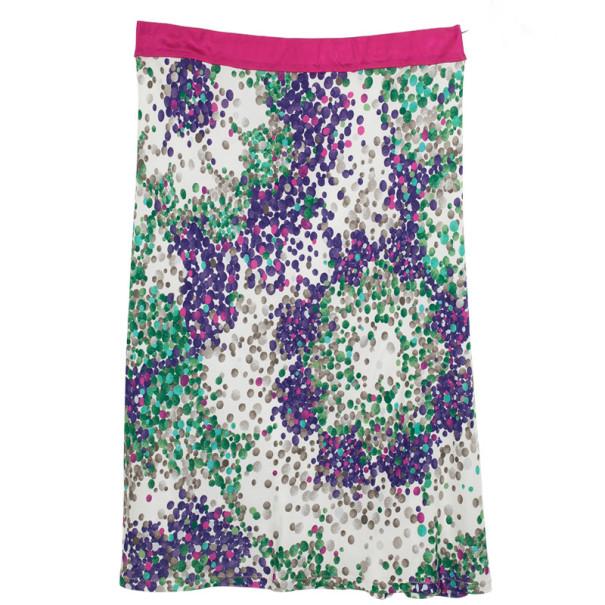 Missoni Printed Pencil Skirt L