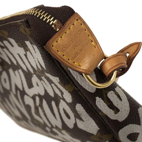 Louis Vuitton Monogram Limited Ed Stephen Sprouse Graffiti Pochette Accessoires