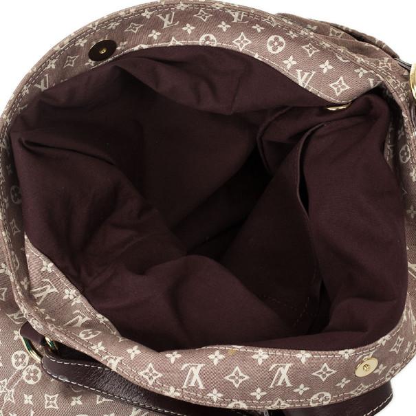 Louis Vuitton Sepia Monogram Mini Lin Idylle Romance Shoulder Handbag
