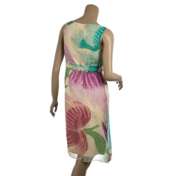 Diane Von Furstenberg Fleur Silk Dress M