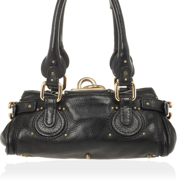 Chloe Black Mini Paddington Bag