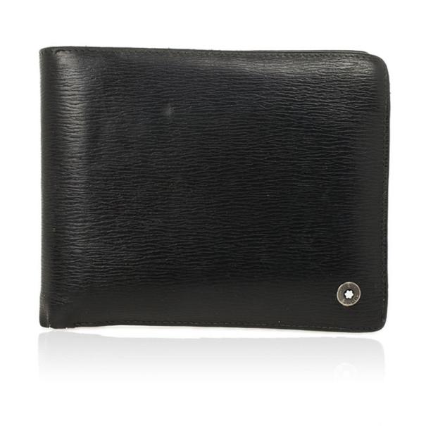 MontBlanc Black Leather Westside Wallet