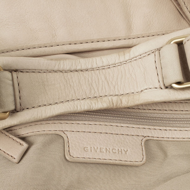 Givenchy Beige Leather Hobo