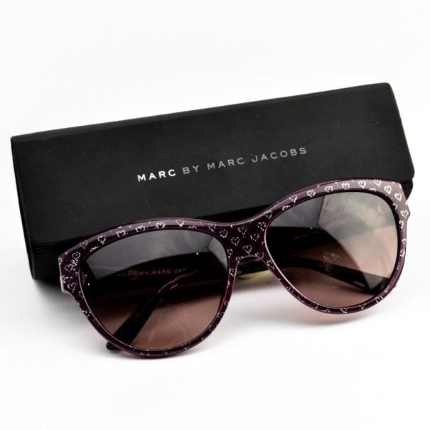 Marc by Marc Jacobs MJ280 Heart Print Woman Sunglasses