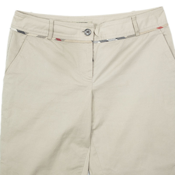 Burberry Cotton Trousers S