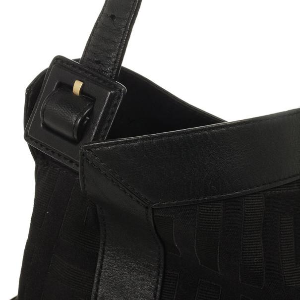Givenchy Black Monogram Hobo
