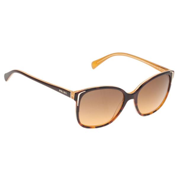 Prada Tortoise Frame SPR01O Cat Eye Sunglasses - Buy & Sell - LC