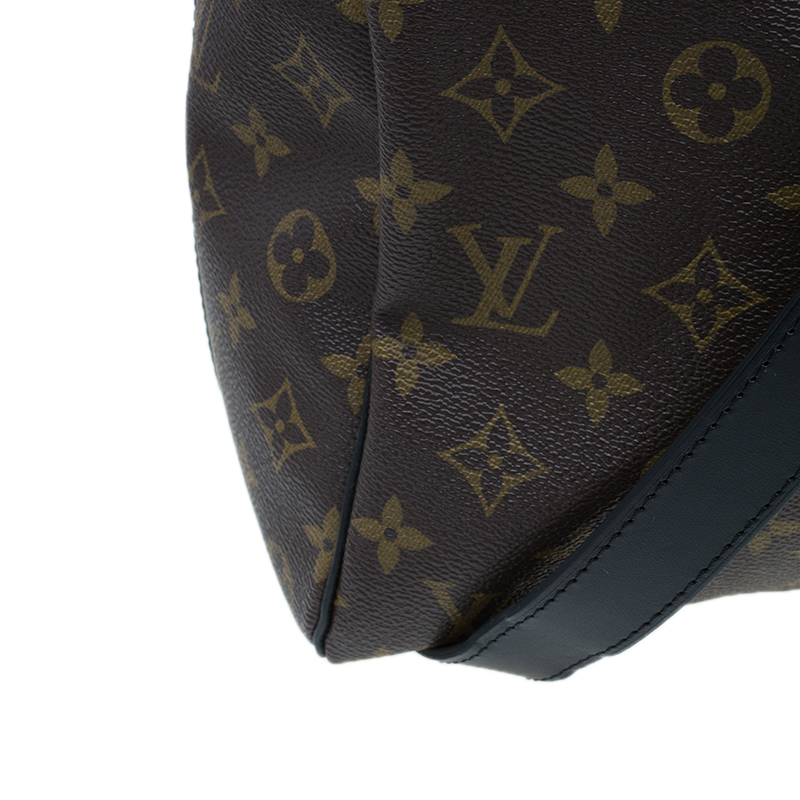Louis Vuitton Monogram Canvas Macassar Keepall Bandouliere 45