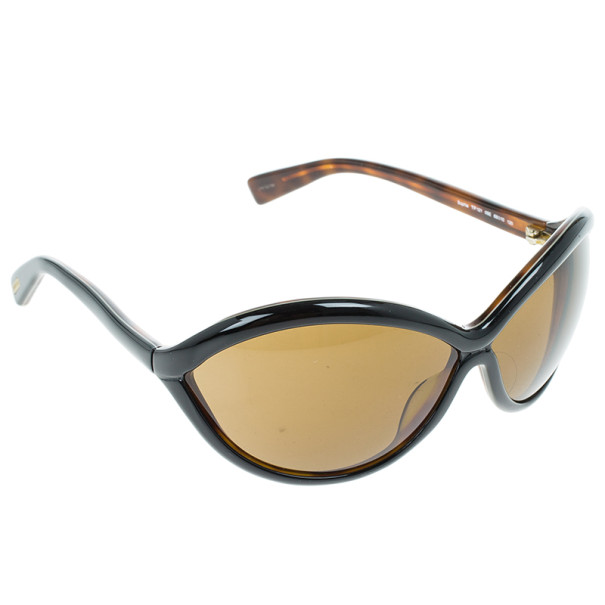 Tom Ford Black Sophia Oval Woman Sunglasses