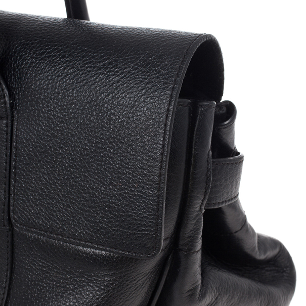 Mulberry Black Leather Bayswater Tote