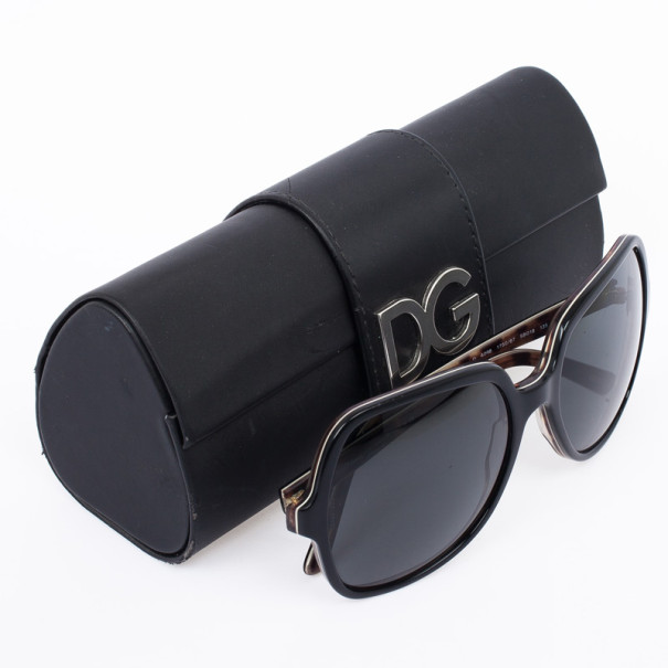 Dolce and Gabbana Black DG4098 Square Woman Sunglasses