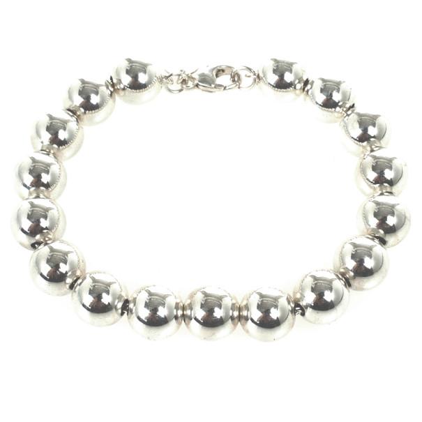 Tiffany & Co. Beads Silver Bracelet