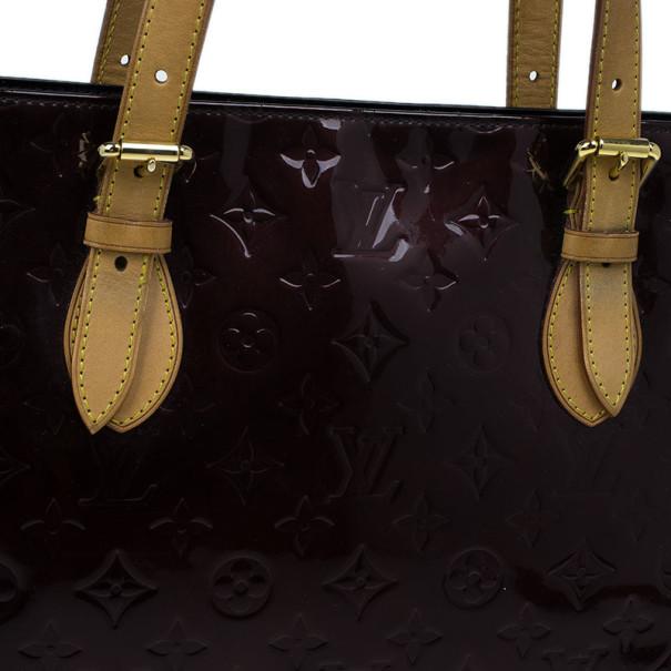 Louis Vuitton Purple Amarante Monogram Vernis Brentwood Tote