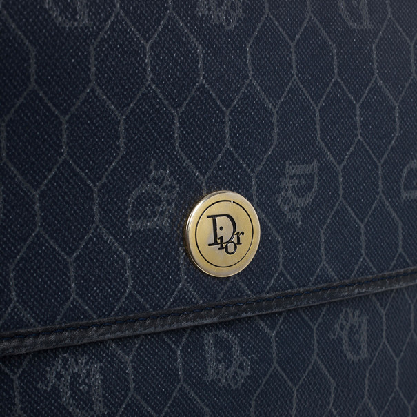 Dior Vintage Monogram Crossbody Bag