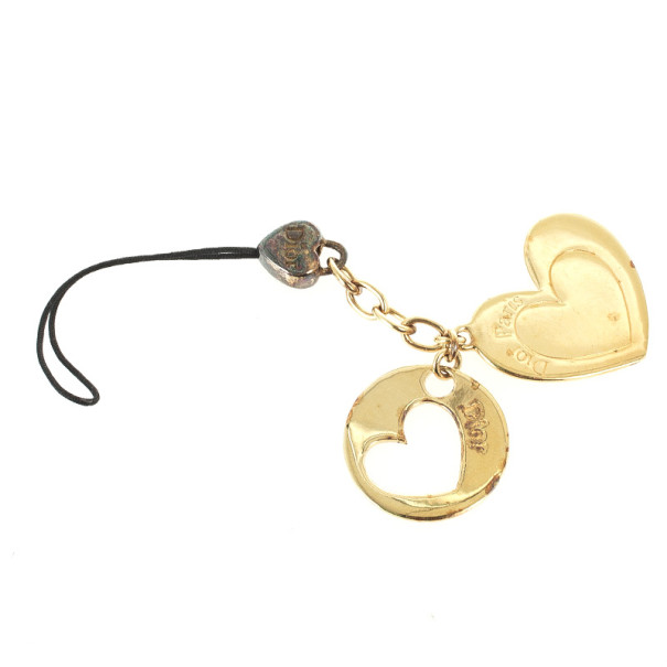 Christian Dior Heart Phone Charm