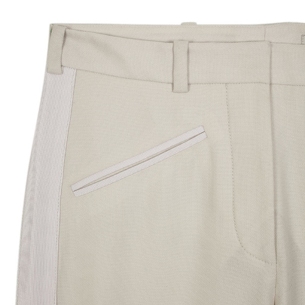 Stella McCartney End Zip White Trousers S
