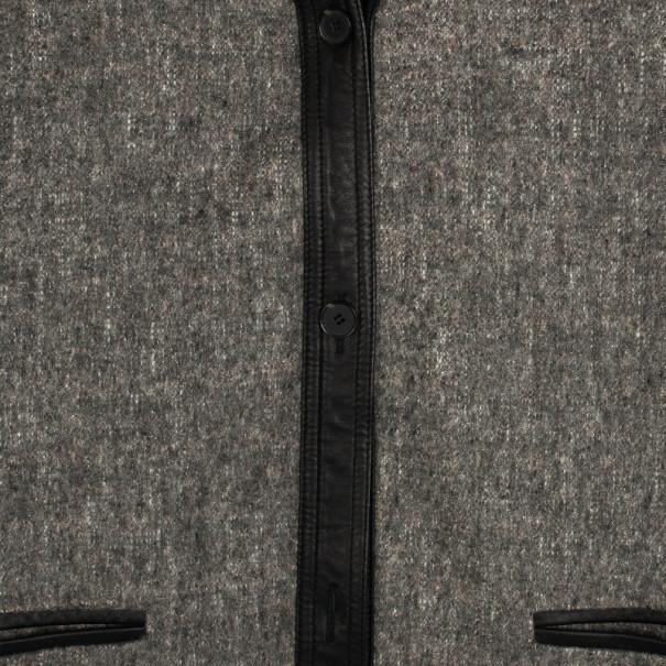 Alexander Wang Wool & Leather Jacket S