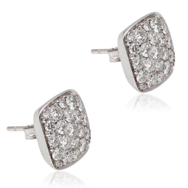 Damiani White Gold Diamond Earrings