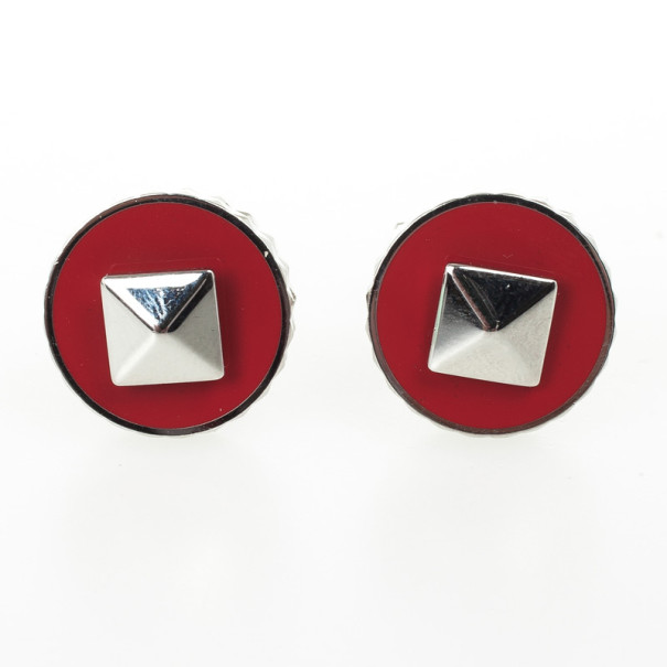 S.T. Dupont Paris Red Cufflinks
