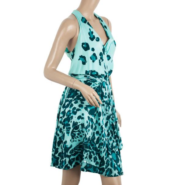 Diane Von Furstenburg Silk Jersey Moritz Dress S