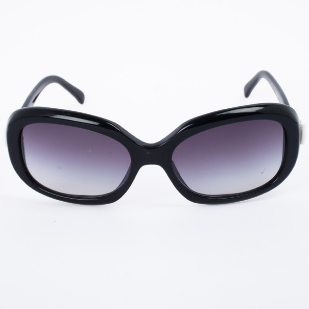 Chanel Black 5170 Bow Rectangle Women Sunglasses