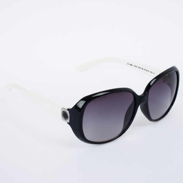Marc by Marc Jacobs MMJ 150/S Black & White Square Women Sunglasses