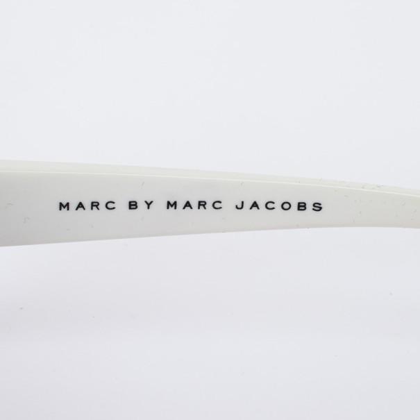 Marc by Marc Jacobs MMJ 150/S Black & White Square Women Sunglasses