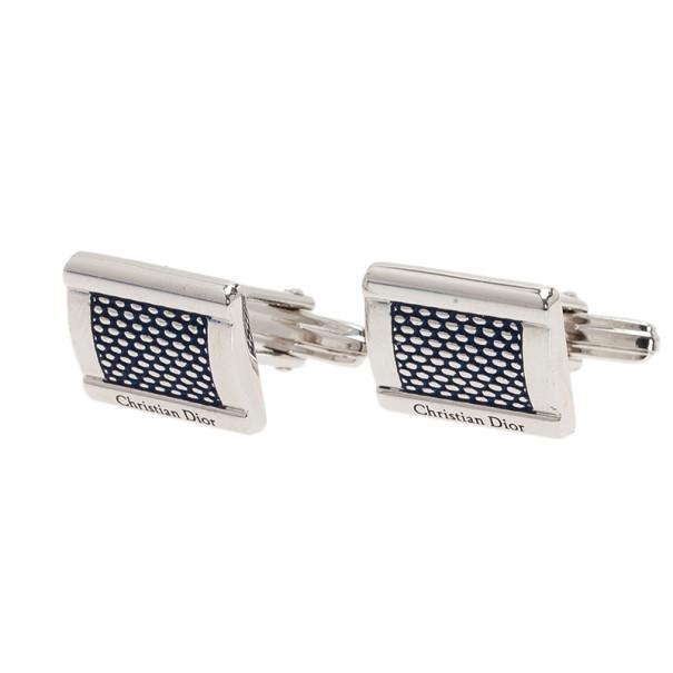 Dior Silver Cufflinks