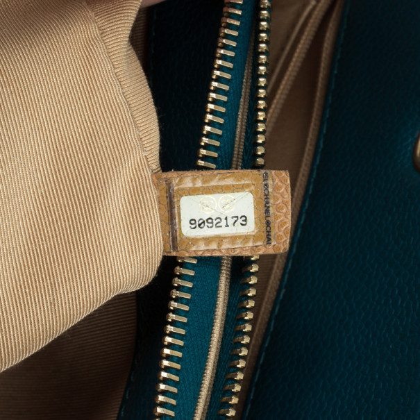 Chanel Turquoise Grand Shopper Tote