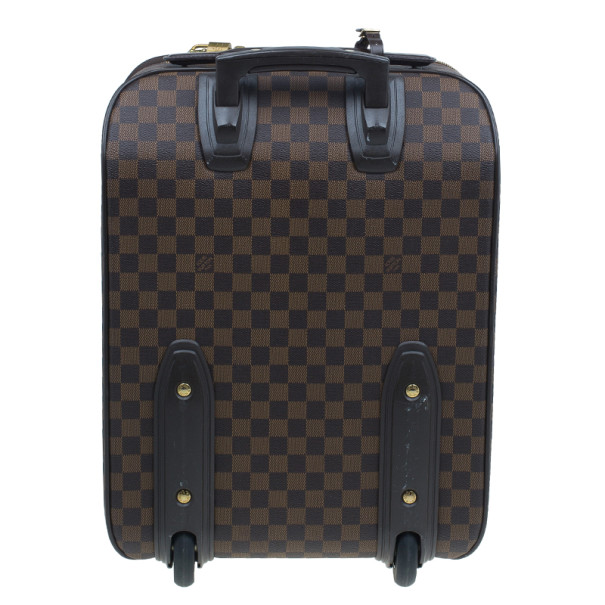 Louis Vuitton Damier Ebene Canvas Pegase 45