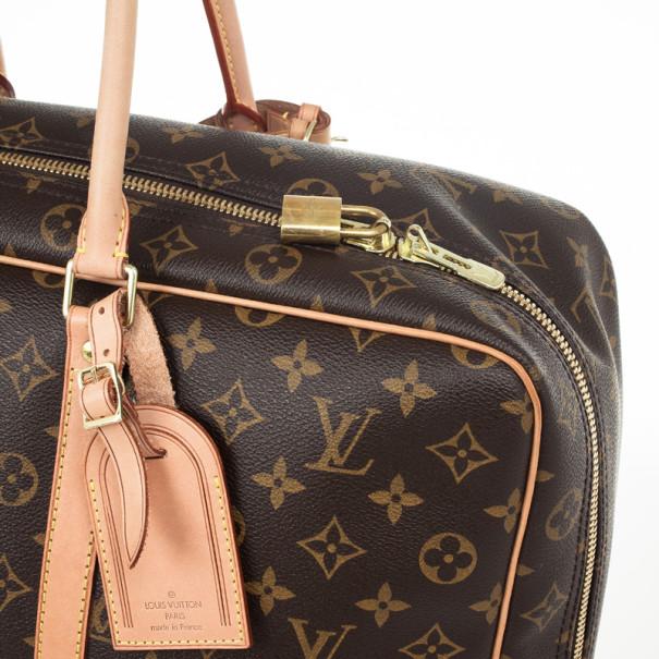 Louis Vuitton Sirius 45 Brown Monogram Canvas Travel Bag